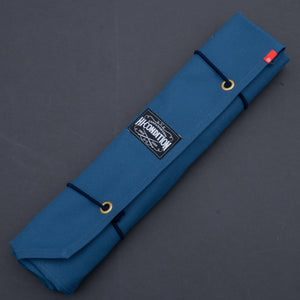 Hi-Condition Hanpu Canvas 6 Pockets Knife Roll (Ai and Om Edition) | HITOHIRA