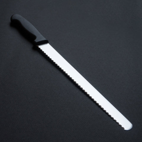 Hitohira Mumei Stainless Bread Knife 300mm Plastic Handle | HITOHIRA