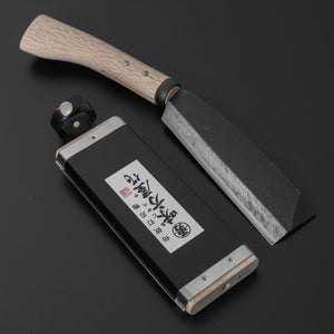 Ajikataya Old Style Hatchet 165mm Ho Wood Handle (Single Bevel) | HITOHIRA