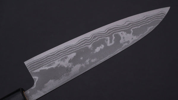 Hitohira GR Blue #2 Damascus Petty 135mm Maple Handle | HITOHIRA