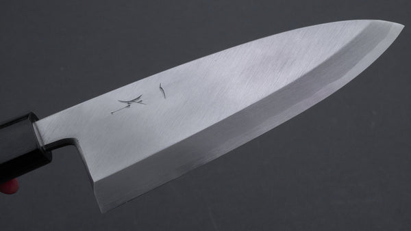 Hitohira Kikuchiyo Manzo White #3 Deba 165mm Walnut Handle (Saya)