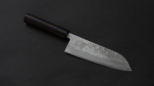 Hitohira NM Damascus Santoku 165mm Rosewood Handle | HITOHIRA