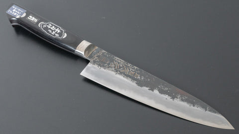 Tsubaya Ginsan Petty 150mm Walnut Handle (Mirror Polished) | HITOHIRA