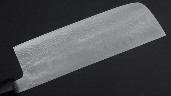 Hitohira Setsu Forged VG-10 Damascus Nakiri 165mm Maple Handle | HITOHIRA