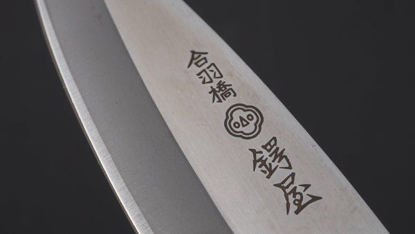 Tsubaya Stainless Left Handed Deba 105mm Ho Wood Handle | HITOHIRA