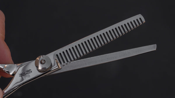 Morihei Kikuyu Hair Thinning Shears 160mm | HITOHIRA