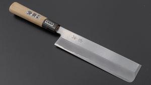 Morihei Munetsugu White #2 Usuba 180mm Ho Wood Handle | HITOHIRA