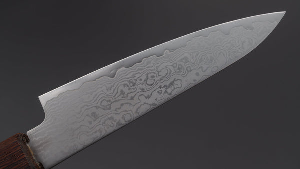 Hitohira Imojiya TH Damascus Paring 105mm Wenge Handle (Mono) | HITOHIRA