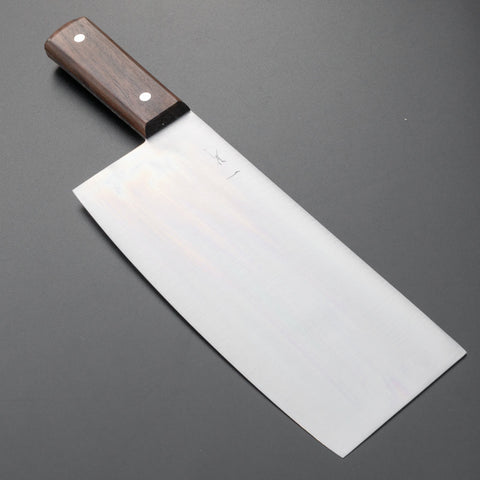 Hitohira Nihonko Carbon Chinese Cleaver 220mm Rosewood Handle | HITOHIRA
