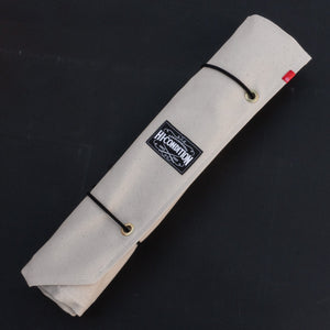 Hi-Condition Hanpu Canvas 6 Pockets Knife Roll Kinari | HITOHIRA