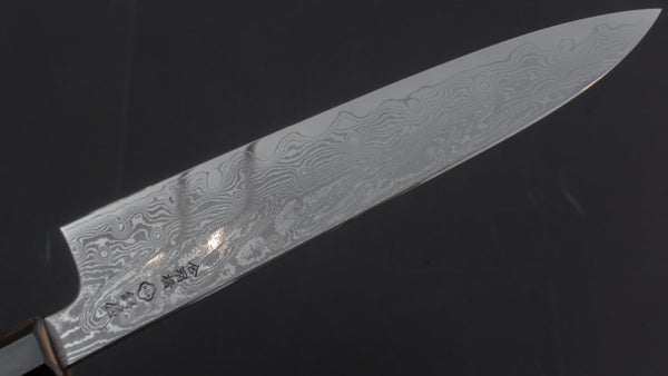 Tsubaya Tamame Forged VG10 Damascus Gyuto 210mm Ho Wood Handle | HITOHIRA