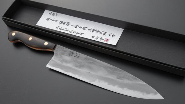 Jiro Tsuchime Yo Gyuto 240mm Ebony Handle (#097/ Discounted) | HITOHIRA