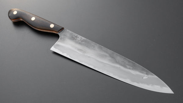 Jiro Tsuchime Yo Gyuto 240mm Ebony Handle (#096/ Discounted) | HITOHIRA