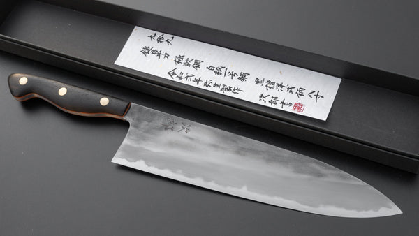 Jiro Tsuchime Yo Gyuto 240mm Ebony Handle (#099/ Discounted) | HITOHIRA