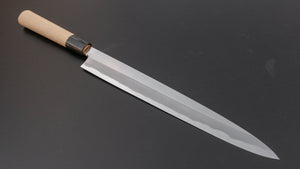 Hitohira Togashi White #2 Tachi Yanagiba 300mm Ho Wood Handle (Saya) | HITOHIRA