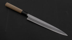 Mumei NOS Blue #2 Yanagiba 240mm Ho Wood Handle | HITOHIRA