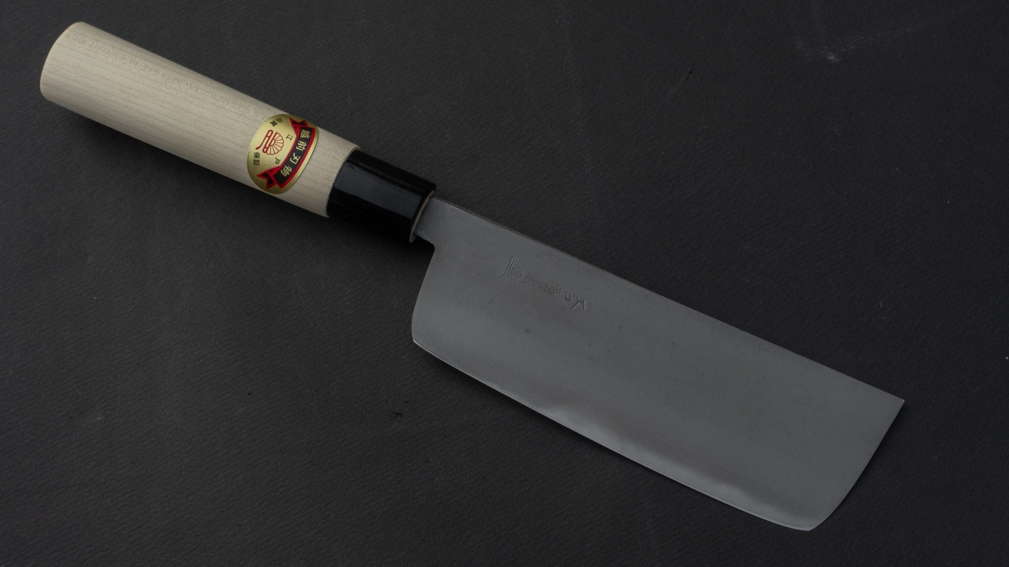 Mumei NOS Nakiri 150mm Poplar Handle | HITOHIRA