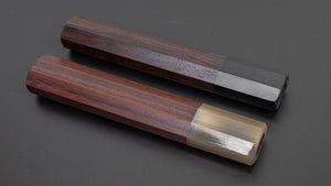Taihei Rosewood Octagonal Handle for Yanagiba 270mm | HITOHIRA