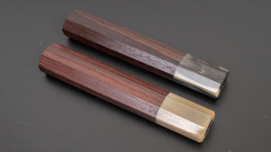Taihei Rosewood Octagonal Handle for Yanagiba 300mm | HITOHIRA