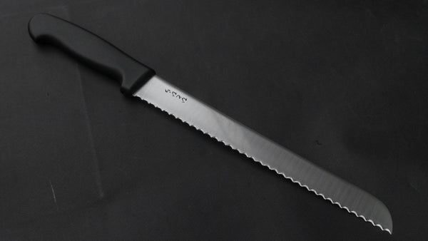 Hitohira Hiragana Bread Knife 250mm Plastic Handle | HITOHIRA