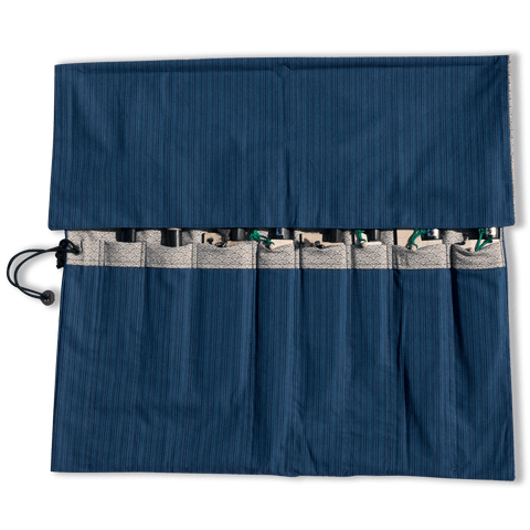 Hitohira Wagara Knife Roll Large (8 Pocket) | HITOHIRA
