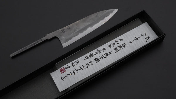 Jiro Tsuchime Petty 135mm (No Handle/ #002) | HITOHIRA
