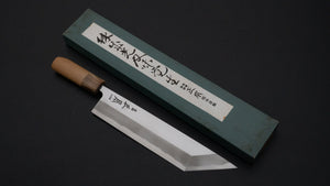 Masamoto Sohonten NOS Edo Saki 225mm Ho Wood Handle | HITOHIRA