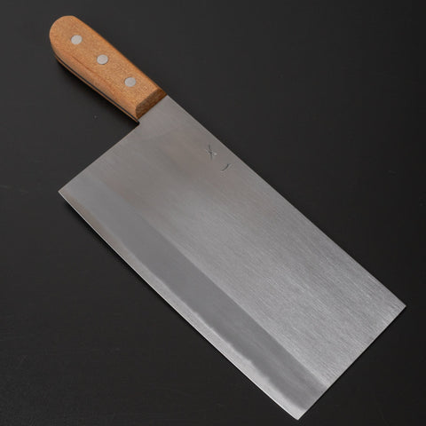 Hitohira Togashi White #2 Chinese Cleaver 220mm Agathis Handle (#7) | HITOHIRA