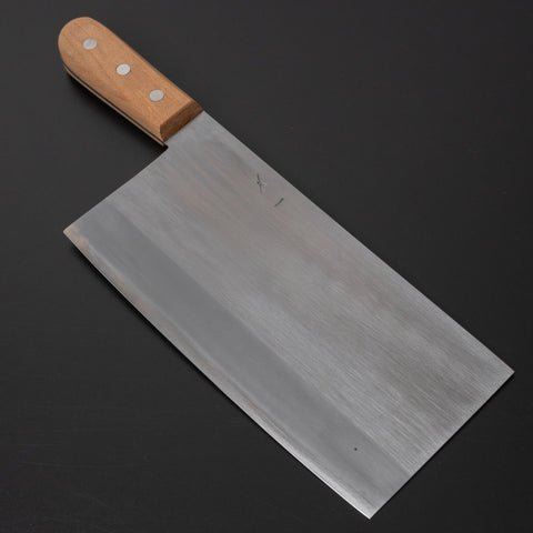 Hitohira Togashi White #2 Chinese Cleaver 220mm Agathis Handle (#6) | HITOHIRA