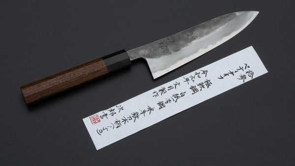 Jiro Tsuchime Wa Petty 150mm Tagayasan Handle (#013) | HITOHIRA