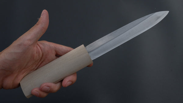 Mumei White #2 Makiri 150mm Ho Wood Handle