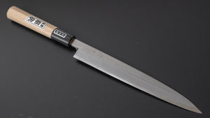 Morihei Munetsugu White #2 Yanagiba 210mm Ho Wood Handle | HITOHIRA