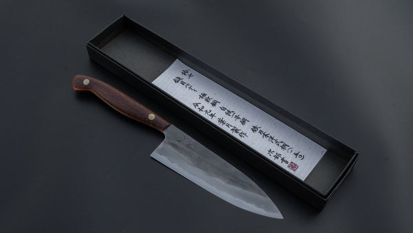 Jiro Tsuchime Yo Petty 150mm Tagayasan Handle (#017) | HITOHIRA