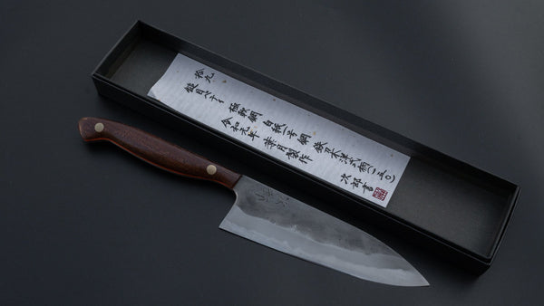 Jiro Tsuchime Yo Petty 150mm Tagayasan Handle (#019) | HITOHIRA