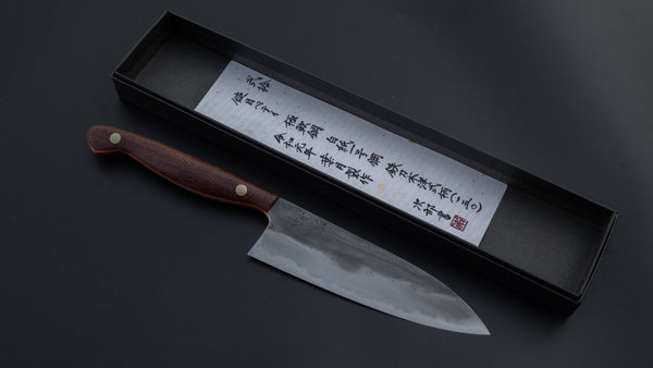 Jiro Tsuchime Yo Petty 150mm Tagayasan Handle (#020) | HITOHIRA
