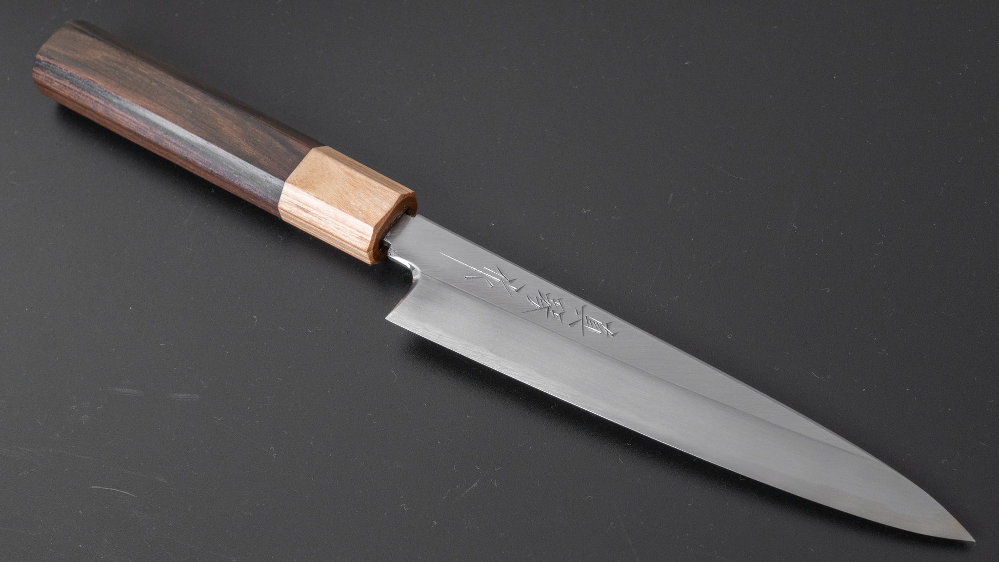 Tadokoro White #2 Petty 150mm Ebony Handle (Limitedly Discounted) | HITOHIRA