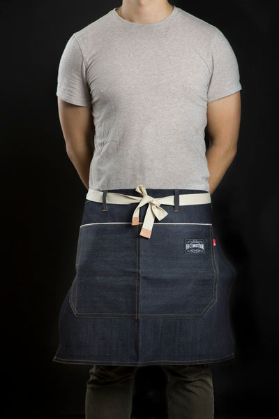 Hi-Condition Selvage Denim Half Apron | HITOHIRA