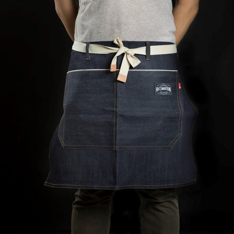 HI-CONDITION Blue Japanese Selvage Denim Half Apron | HITOHIRA