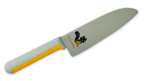 Masahiro Children Knife 130mm Plastic Handle (Squirrel) | HITOHIRA