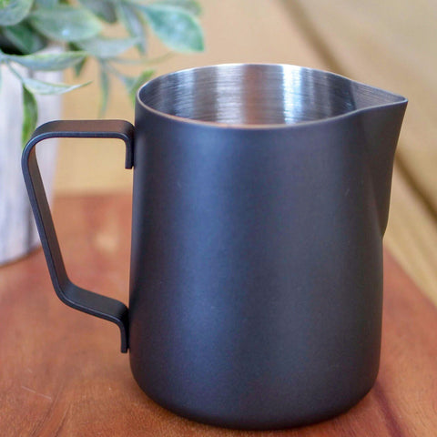 JoeFrex Black Milk Frothing Pitcher