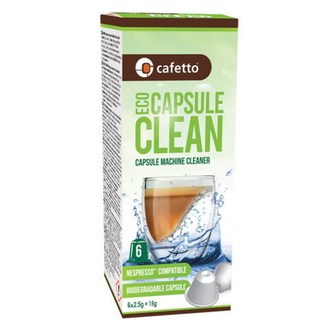 Cafetto Eco Capsule Machine Cleaner
