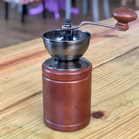 YAMA Wood Manual Coffee Grinder
