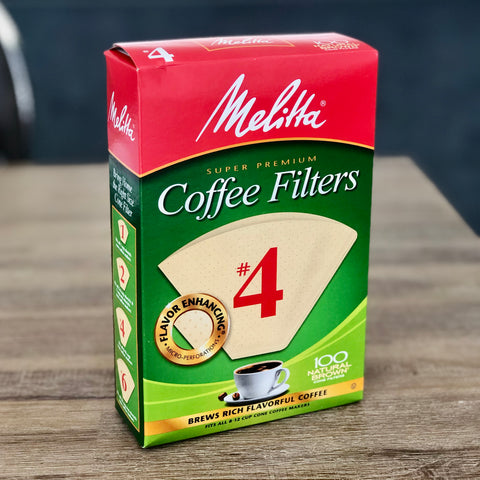 Melitta #4 Coffee Filters