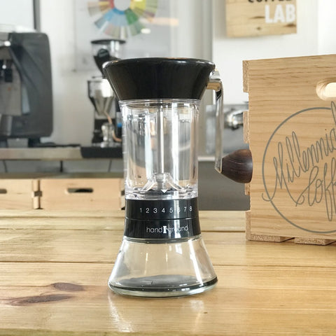 Handground Precision Coffee Grinder: Black