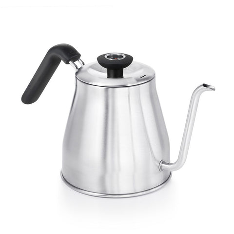 Stainless Steel Pour-Over Kettle With Thermometer