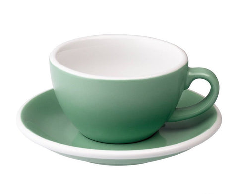 6oz Loveramics Egg Style Cup & Saucer - MINT