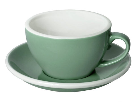 8oz Loveramics Egg Style Cup & Saucer - MINT
