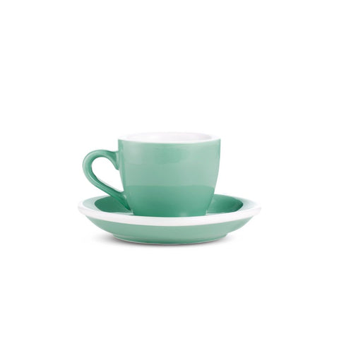 2.7oz Loveramics Egg Style Cup & Saucer - MINT