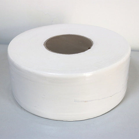 Jumbo Roll White Toilet Tissue