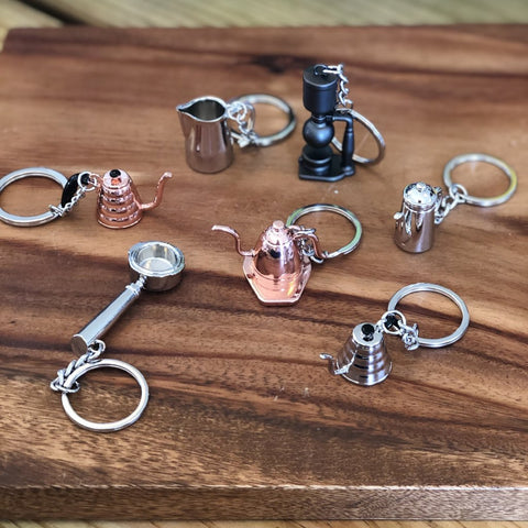 Featured Barista Keychains